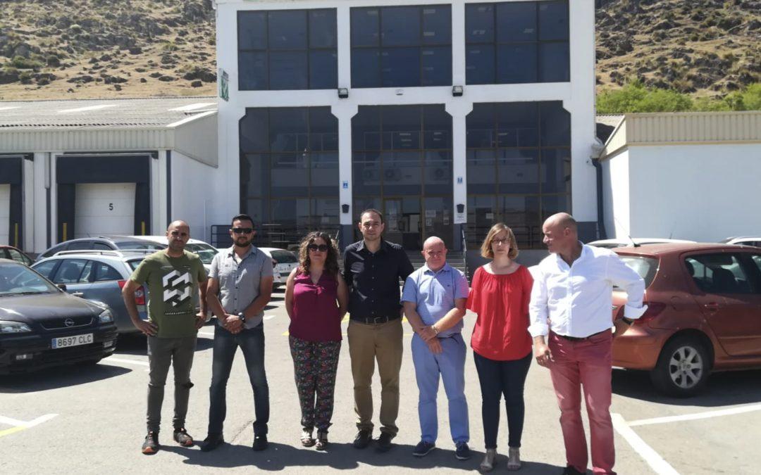 La Junta de Andalucía visita Hortoventas