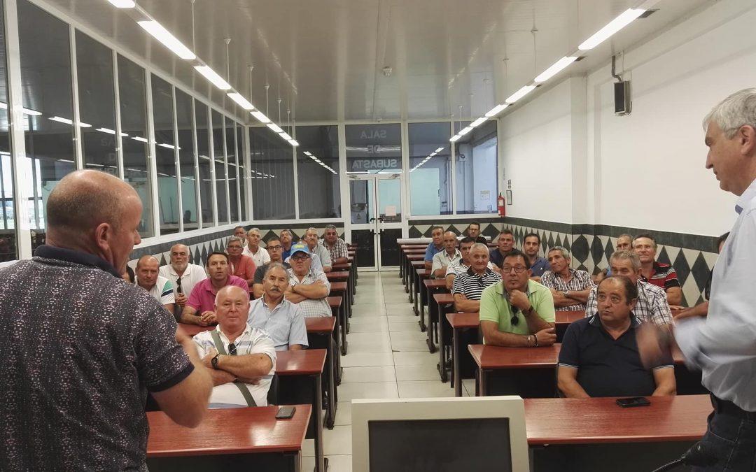Rectores de varias cooperativas de Suca visitan Hortoventas